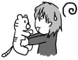 「コイツと戦う~!?」