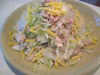 生節のサラダ1