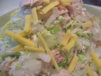 生節のサラダ2