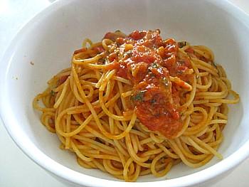 トマトパスタ4