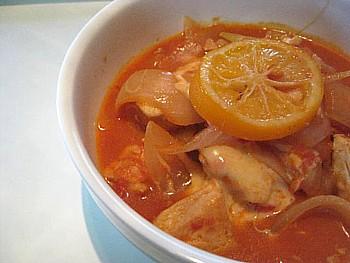 鶏のトマト煮3