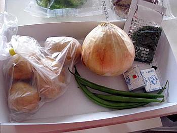 ベネッセ 煮込みハンバーグとサフランライス2