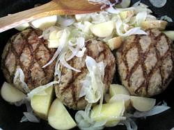 ベネッセ 煮込みハンバーグとサフランライス7
