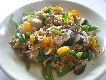野菜とポークのイタリアン炒め2