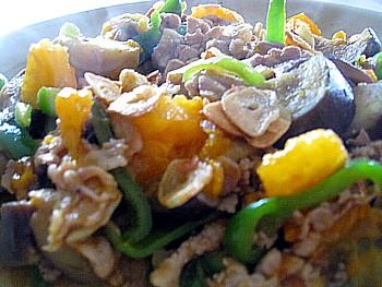 野菜とポークのイタリアン炒め3