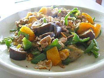 野菜とポークのイタリアン炒め4