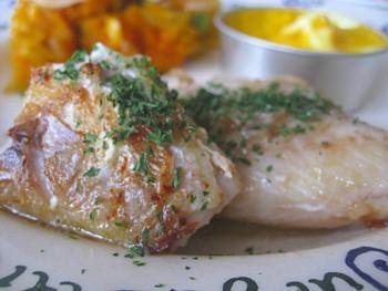いとより鯛のバターソテー キッシュ 粉吹きカボチャ2