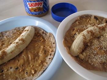 チャパティ バナナ