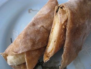 チャパティ バナナ2
