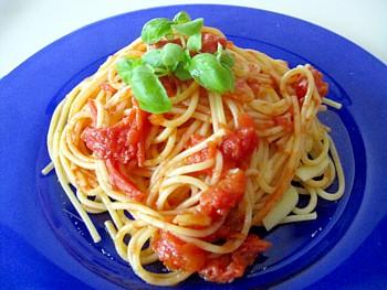 トマトパスタ3