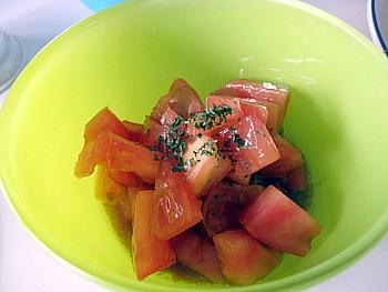 トマトサラダ2