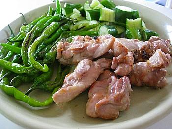 鶏モモ肉焼き