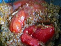 チキンと夏野菜のインドカリー5