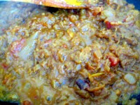 チキンと夏野菜のインドカリー6