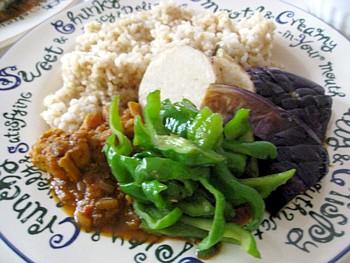 チキンと夏野菜のインドカリー11