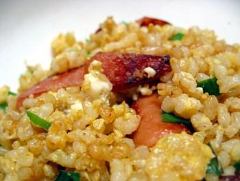 玄米焼き飯2