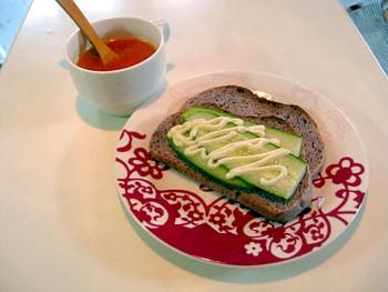 手づくりパンの朝食4