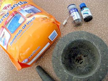 重曹歯磨き粉