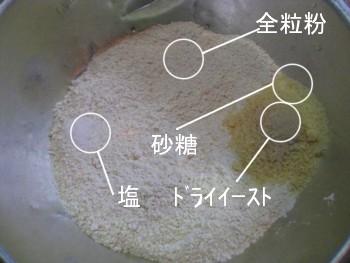 簡単発酵で失敗しない手づくりパン1