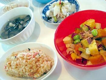 カラフルサラダ定食5