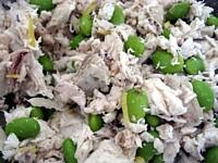 とんぼ節 生節サラダ3