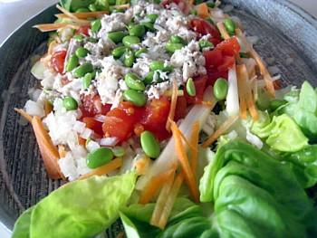 とんぼ節 生節サラダ6