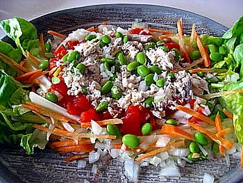 とんぼ節 生節サラダ4