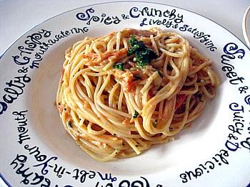 トマトとチーズのパスタ6