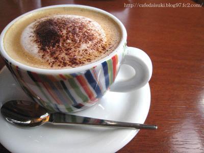 "cafe ""K""◇カプチーノ"