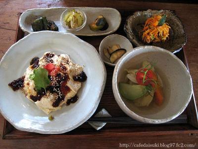 野菜cafe 廻◇廻のとろとろゆばごはん定食