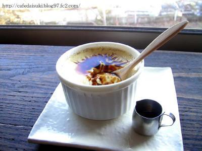 natural french cafe mikumari◇クレームカラメル