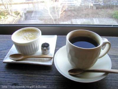 natural french cafe mikumari◇水のブレンド&クレームカラメル