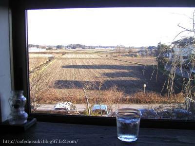 natural french cafe mikumari◇2階席からの眺め