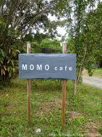 MOMO cafe◇看板