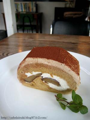 NASU SHOZO CAFE◇栗のロールケーキ