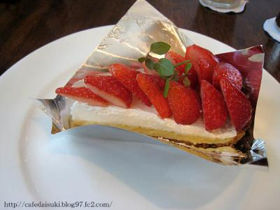NASU SHOZO CAFE◇いちごのタルト