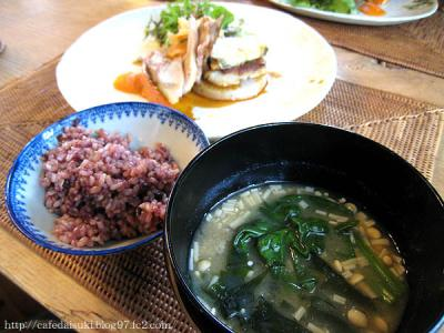 natural restaurant OURS DINING◇ご飯&味噌汁