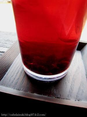 空cafe◇ブルーベリージュース