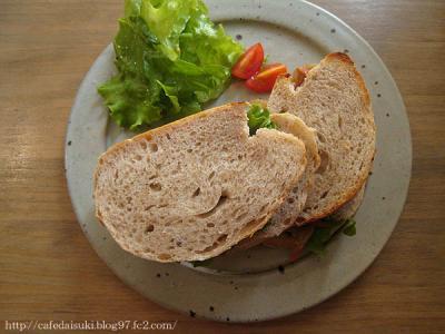CAFE TERVE!◇サンドイッチ2種盛り