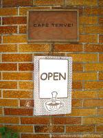 CAFE TERVE!◇外の看板