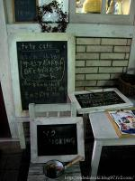tete cafe◇看板