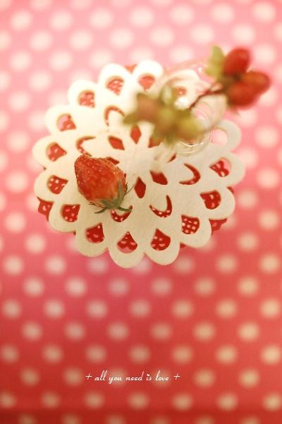 21 イチゴ ピンク