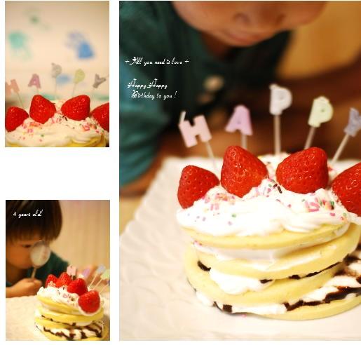 24 バースディケーキ