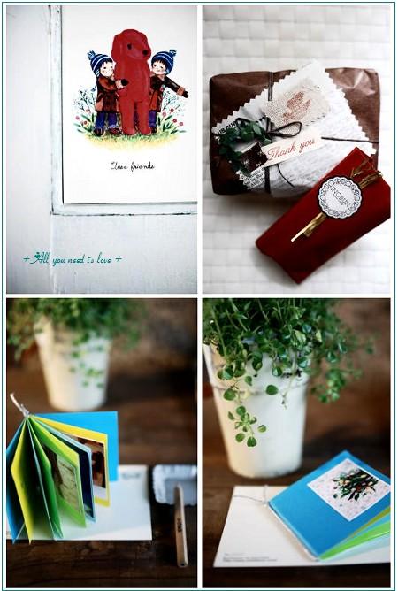 02 プレゼント カードと包み