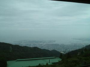 六甲山にて