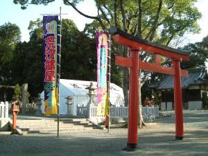 相撲のぼり幡