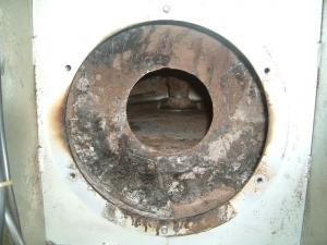 焙煎機の清掃2