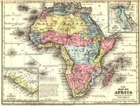 アフリカ古地図