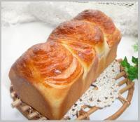 いちごシートの折り込みパン