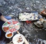 肉、酒、野菜!